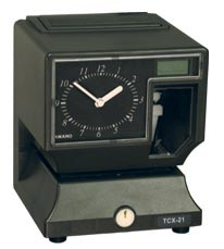 TCX-21 Time Recorder